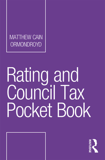 Rating and Council Tax Pocket Book book cover