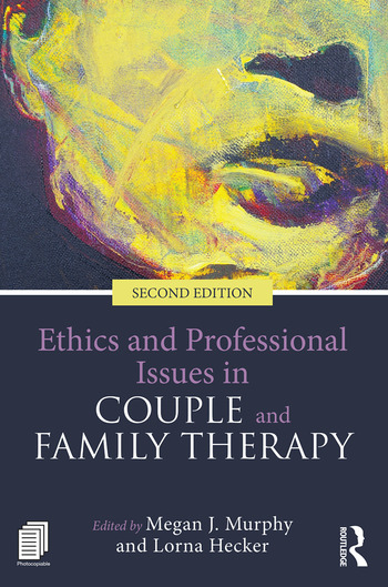 Ethics and Professional Issues in Couple and Family Therapy book cover