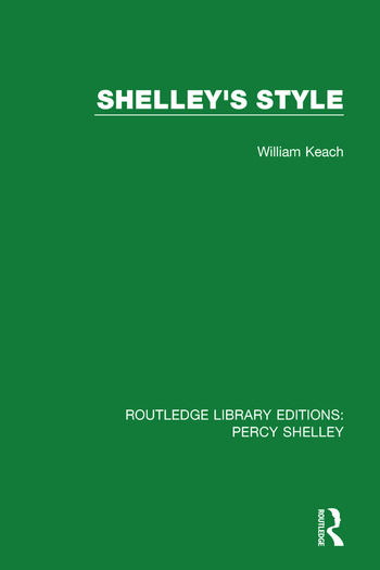 Shelley's Style book cover