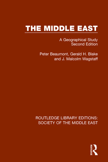 The Middle East A Geographical Study, Second Edition book cover