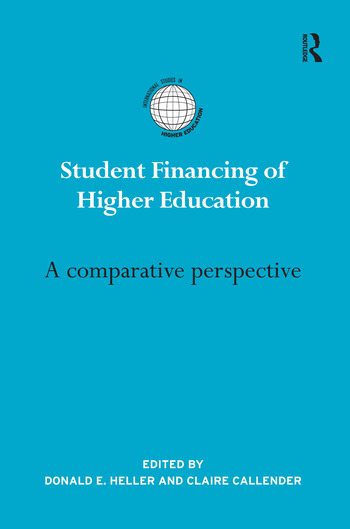 Student Financing of Higher Education A Comparative Perspective book cover