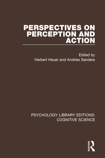 Perspectives on Perception and Action book cover