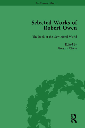The Selected Works of Robert Owen vol III book cover