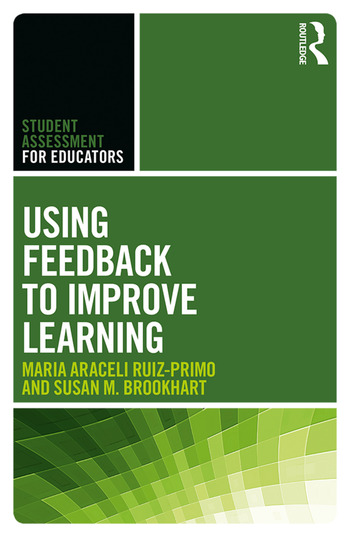 Using Feedback to Improve Learning book cover