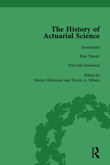 The History of Actuarial Science Vol VII book cover