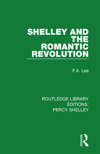 Shelley and the Romantic Revolution book cover