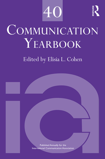 Communication Yearbook 40 book cover