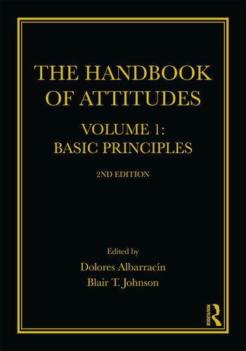The Handbook of Attitudes, Volume 1: Basic Principles 2nd Edition book cover