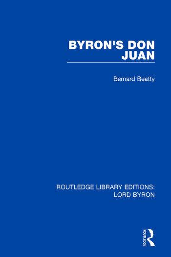 Byron's Don Juan book cover