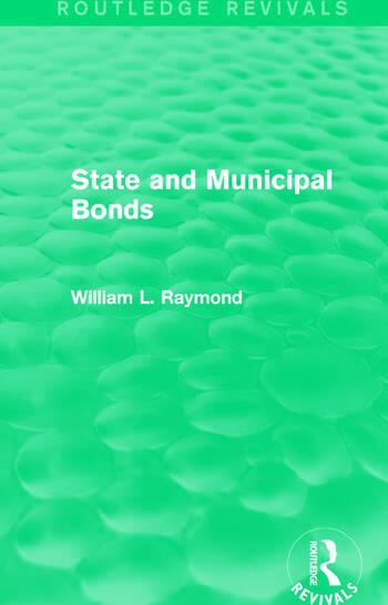 State and Municipal Bonds book cover