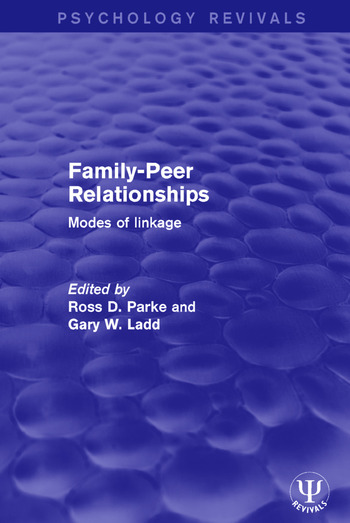 Family-Peer Relationships Modes of Linkage book cover