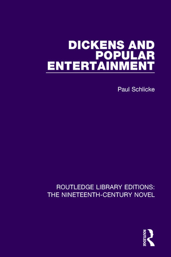 Dickens and Popular Entertainment book cover