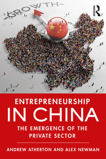 Entrepreneurship in China The Emergence of the Private Sector book cover