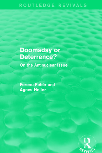 Doomsday or Deterrence? On the Antinuclear Issue book cover