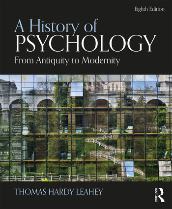 A History of Psychology From Antiquity to Modernity book cover