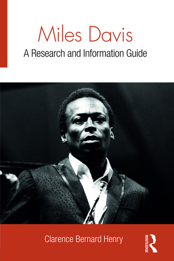 Miles Davis A Research and Information Guide book cover