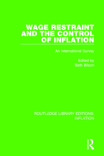 Wage Restraint and the Control of Inflation An International Survey book cover