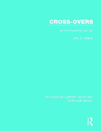 Cross-Overs Art Into Pop/Pop Into Art book cover