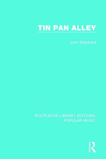 Tin Pan Alley book cover