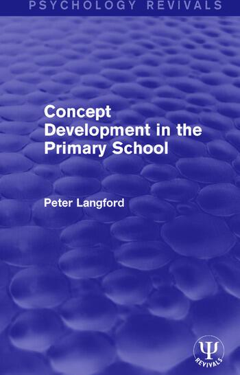 Concept Development in the Primary School book cover