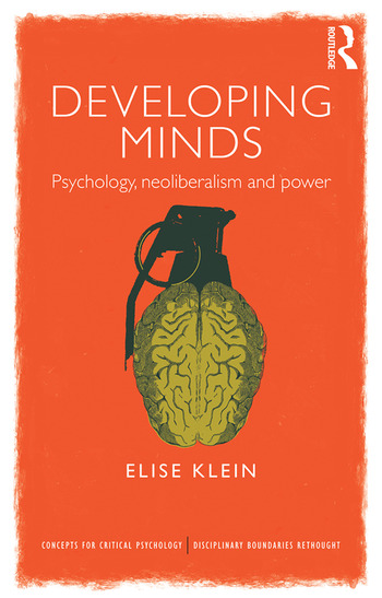 Developing Minds Psychology, neoliberalism and power book cover
