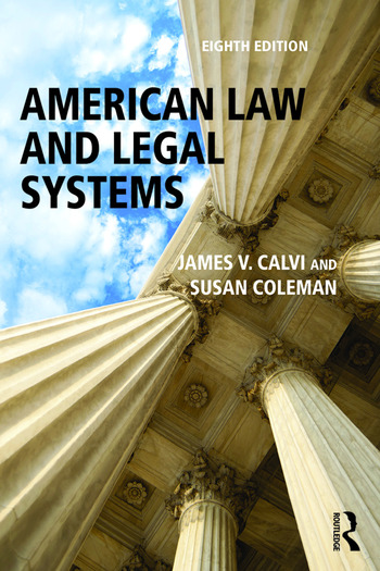 American Law and Legal Systems book cover