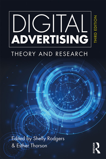 Digital Advertising Theory and Research book cover