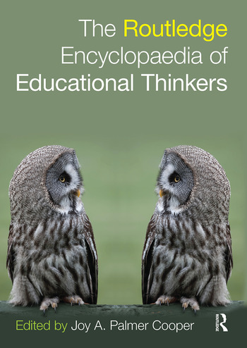 Routledge Encyclopaedia of Educational Thinkers book cover