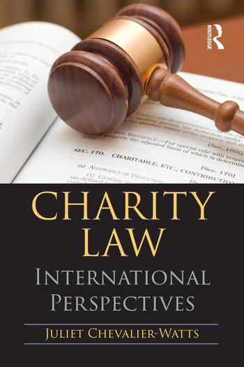 Charity Law International Perspectives book cover