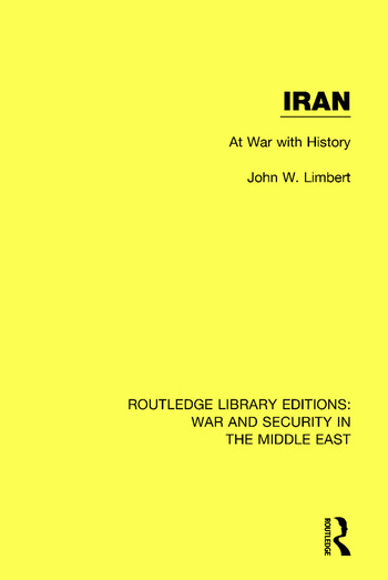 Iran At War With History book cover