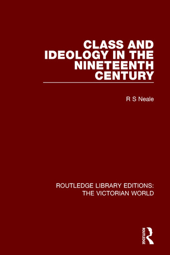 Class and Ideology in the Nineteenth Century book cover