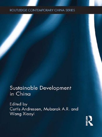 Sustainable Development in China book cover