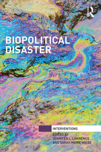 Biopolitical Disaster book cover