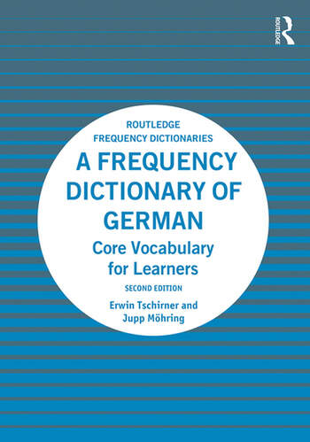 A Frequency Dictionary of German Core Vocabulary for Learners book cover