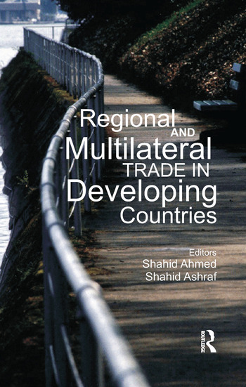 Regional and Multilateral Trade in Developing Countries book cover