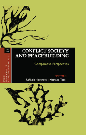 Conflict Society and Peacebuilding Comparative Perspectives book cover