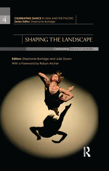 Shaping the Landscape Celebrating Dance in Australia book cover