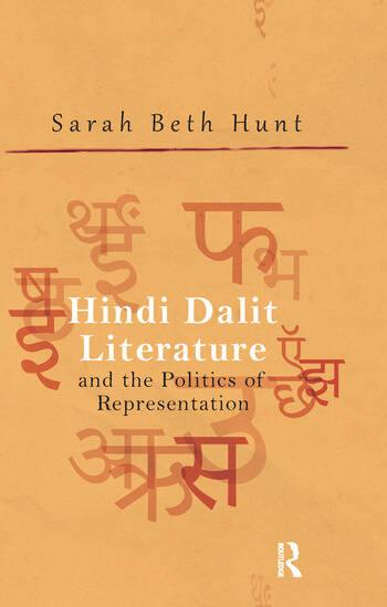 Hindi Dalit Literature and the Politics of Representation book cover