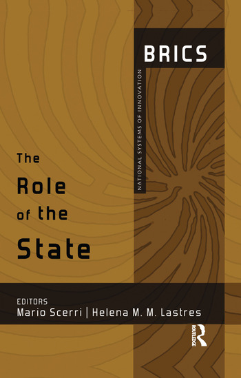 The Role of the State BRICS National Systems of Innovation book cover
