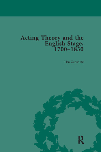 Acting Theory and the English Stage, 1700-1830 Volume 1 book cover
