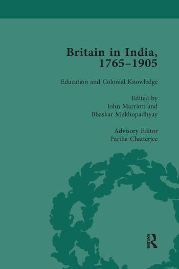 Britain in India, 1765-1905, Volume III book cover