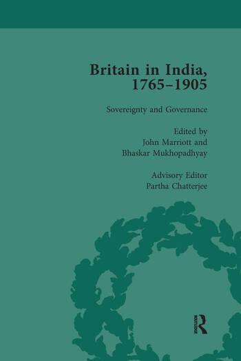 Britain in India, 1765-1905, Volume V book cover