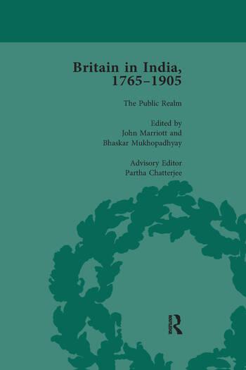 Britain in India, 1765-1905, Volume VI book cover