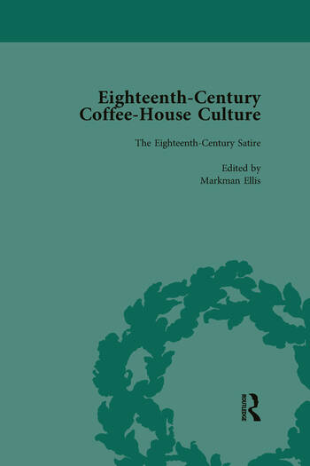 Eighteenth-Century Coffee-House Culture, vol 2 book cover