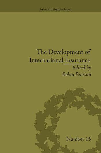 The Development of International Insurance book cover