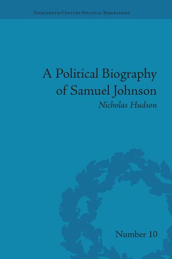 A Political Biography of Samuel Johnson book cover
