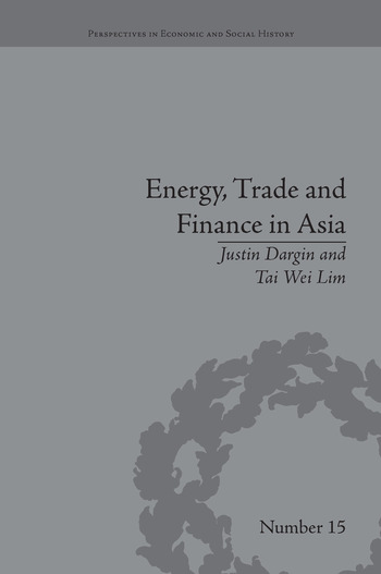 Energy, Trade and Finance in Asia A Political and Economic Analysis book cover