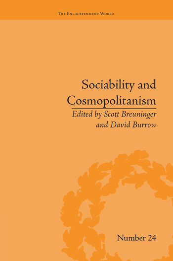 Sociability and Cosmopolitanism Social Bonds on the Fringes of the Enlightenment book cover