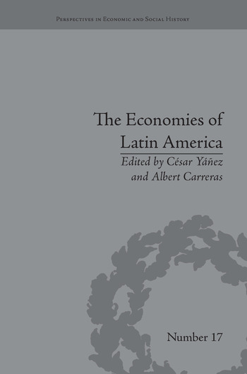 The Economies of Latin America New Cliometric Data book cover