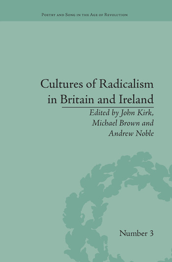 Cultures of Radicalism in Britain and Ireland book cover